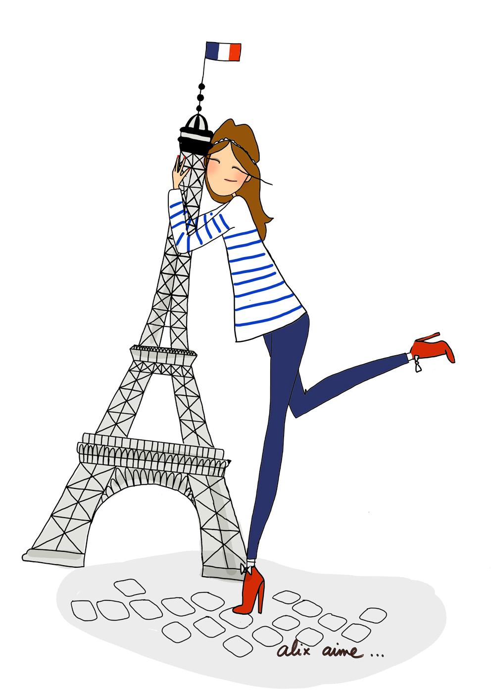 Illustration personnelle réalisée nommée Douce France
